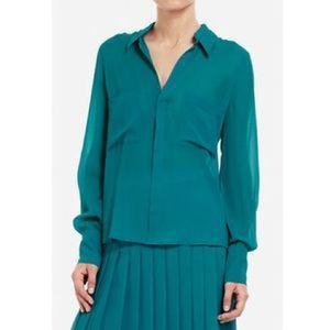 BCBG MaxAzria Emma Silk blouse